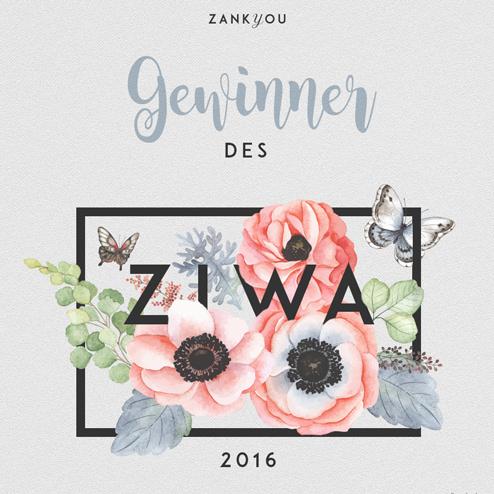 Gewinner ZIWA 2016 im Bereich Hochzeitsfotografie