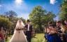 Hochzeitszeremonie vor Schloss Marienburg, Pattensen