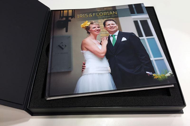 Hochzeitsbuch in einer Box