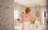 Braut bei den Vorbereitungen im Empire Riverside Hotel Hamburg