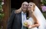 Hochzeitsfotos Braut mit Ihrem Vater