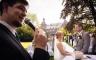 Hochzeitszeremonie Ringtausch