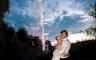 Hochzeitsfotos Feuerwerk