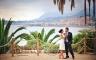 Hochzeitsfotos in Menton am Mittelmeer