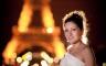 Kreative Hochzeitsportraits in Paris bei Nacht