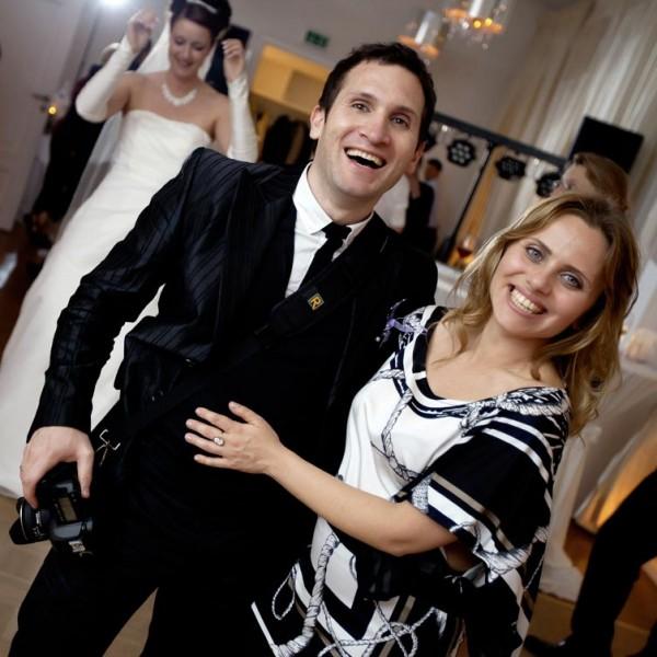 Hochzeitsfotograf Haburg Kirill Brusilovsky, together with his wife Lilia